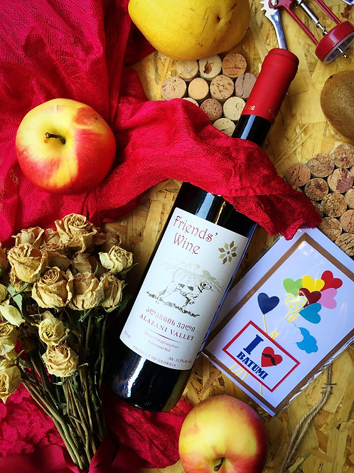 Алазанская Долина Красное Friends' Wine