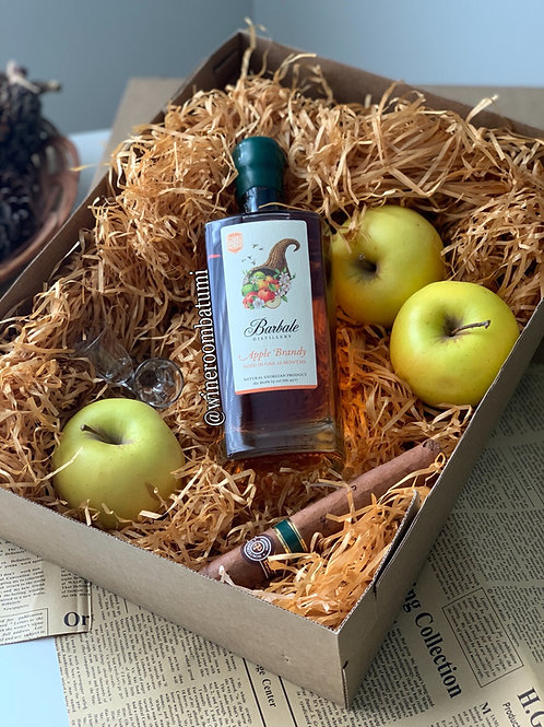 Яблочный бренди Barbale Winery