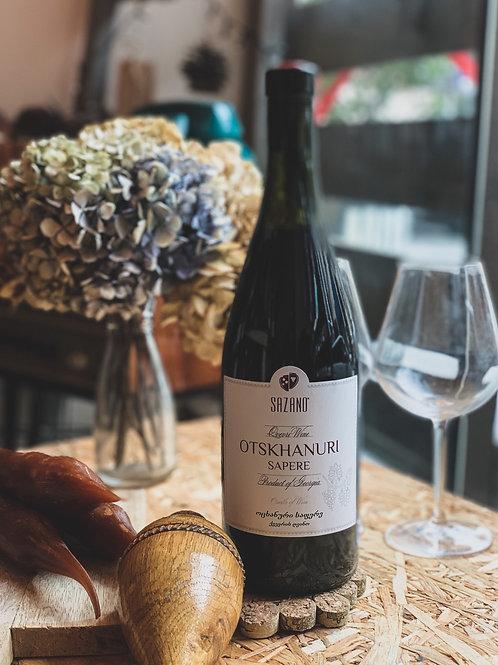 Отсханури Сапере Sazano Wine