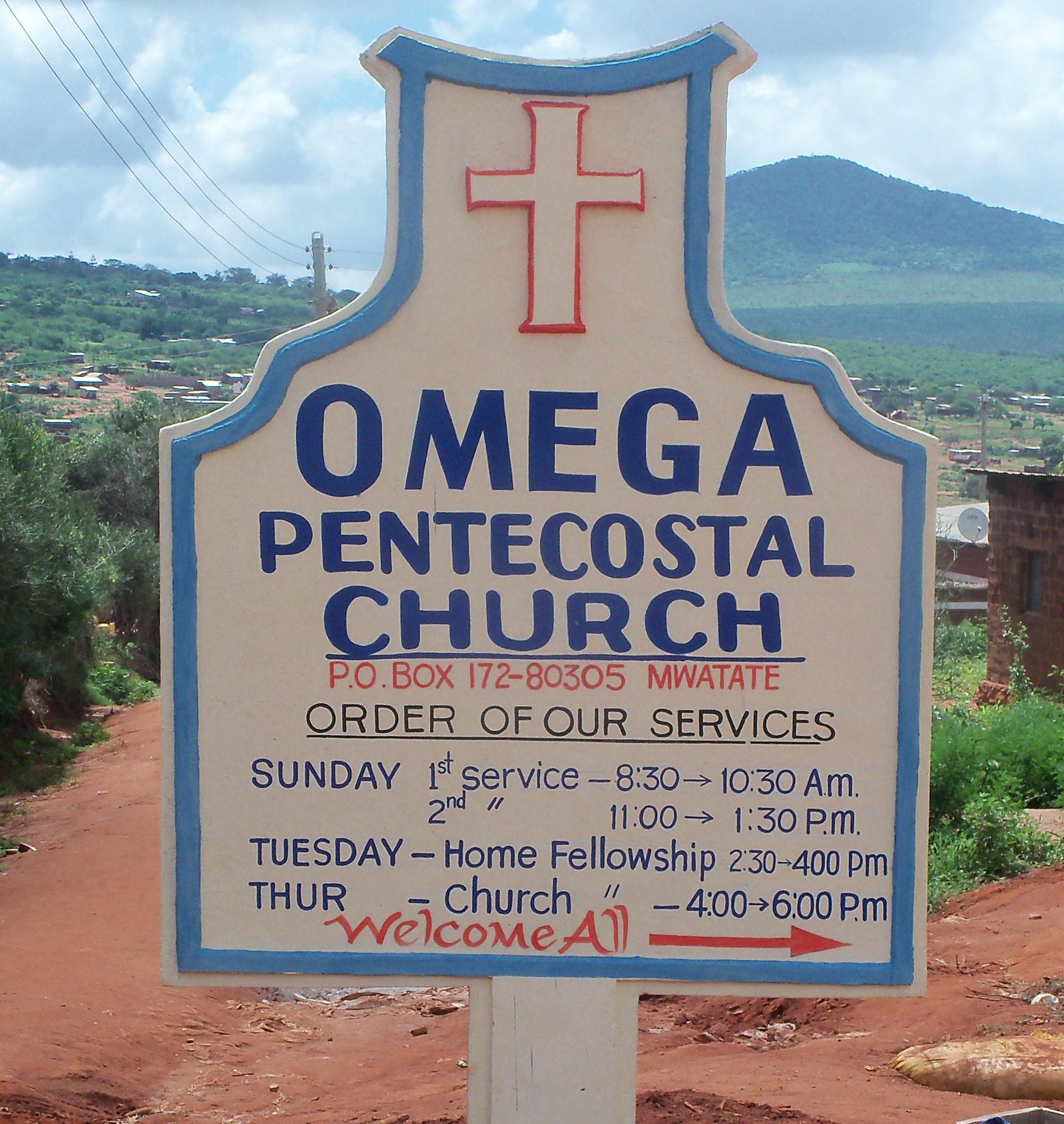 Omega Church, Coast