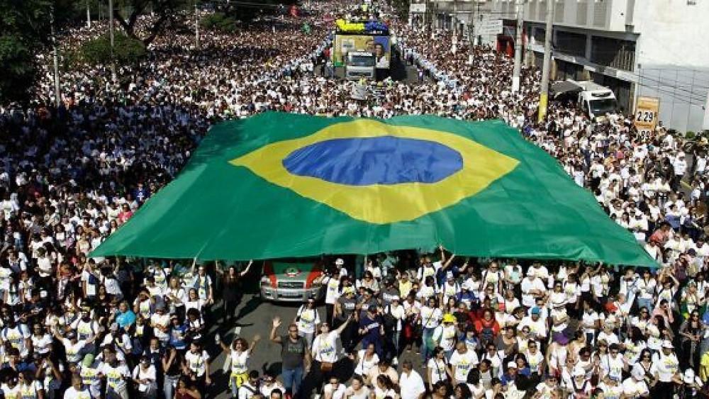 Jesus March in Brazil photo credit: Fox News