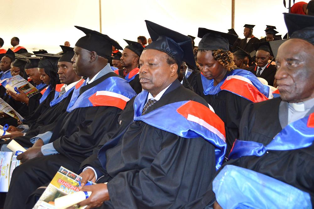 Nairobi Pentecostal BC Graduates