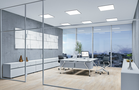 Brighten up your office with daylight LED
