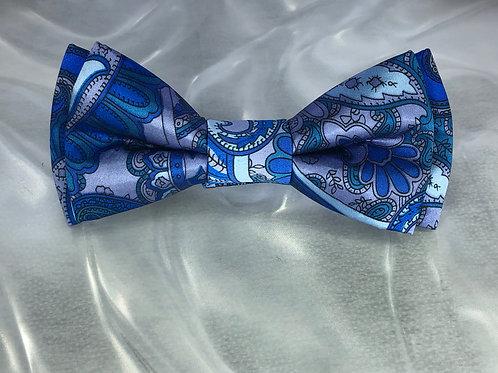 Silk Paisley-Turquoise