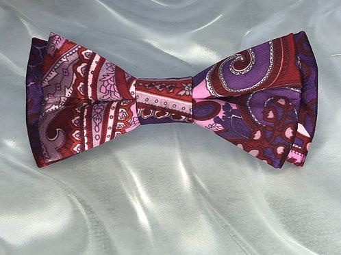 Silk Paisley-Purples