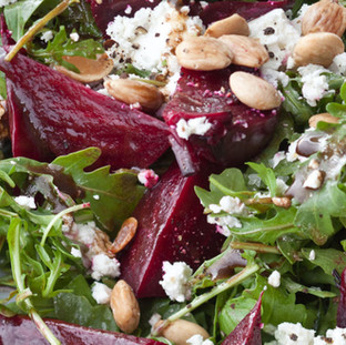 Barefoot Contessa Balsamic Roasted Beet Salad