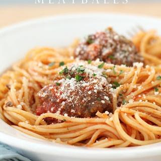 JSH Spaghetti & Meatballs