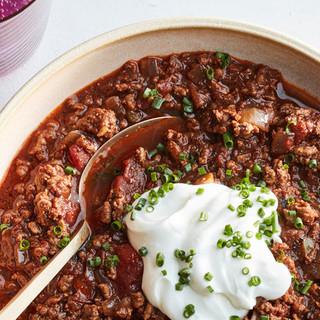 Martha Stewart Easy Beef Chili