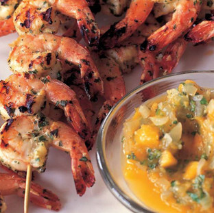 Barefoot Contessa Grilled Herb Shrimp