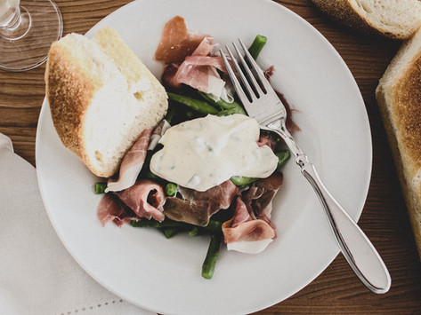 Summer Salad with Parma Ham | Sharing a New Favourite & a Cute House Tucked in the Trees