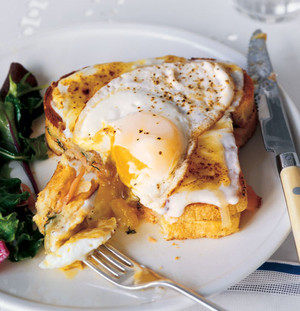 Martha Stewart Smoked Salmon Croque Madames