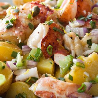 Barefoot Contessa Lobster & Potato Salad
