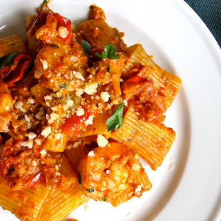 JSH Vegetable & Shrimp Ragu