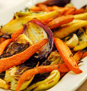 Martha Stewart Roasted Vegetables