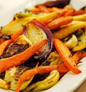 Martha Stewart Roasted Vegetables