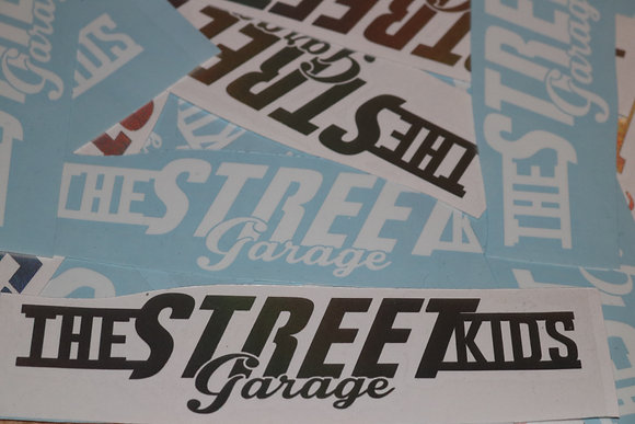 TheStreetKids Small Banner White