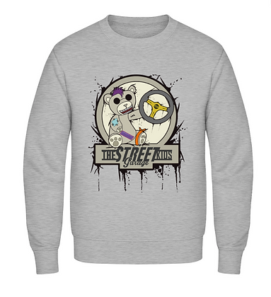 2018 - The Street Kids Bear Sweater - Grey