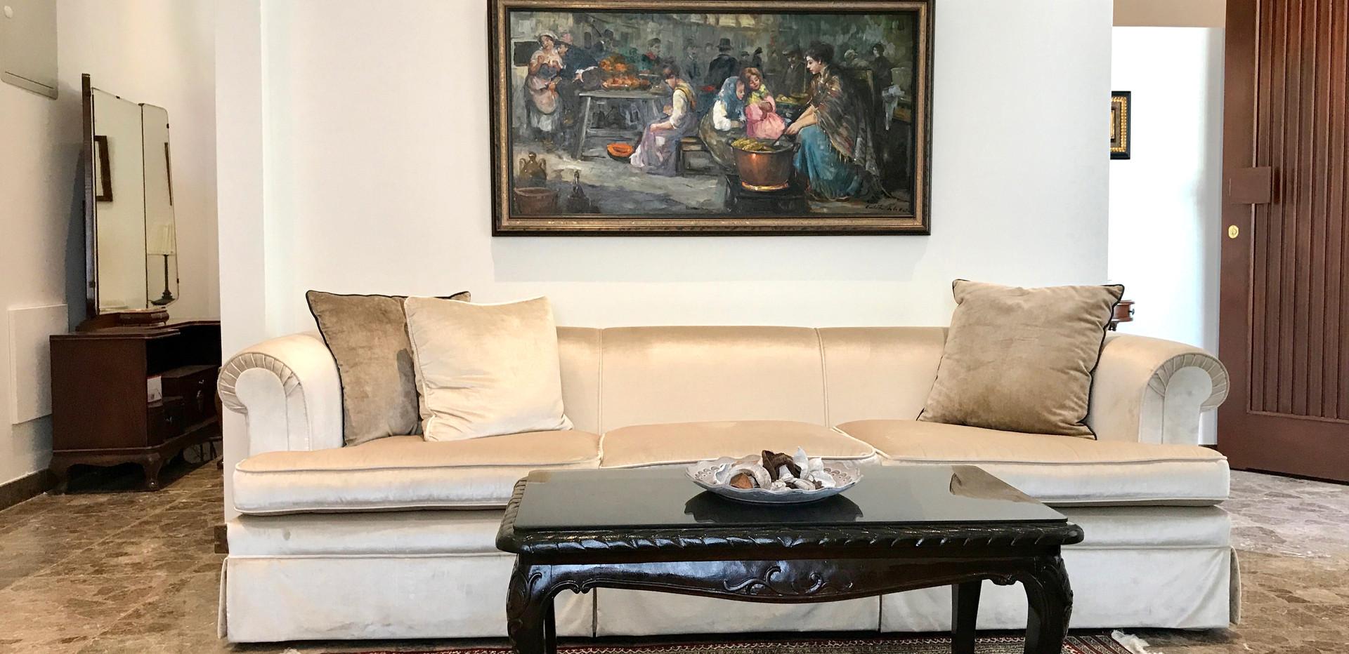 Lemon Livingroom at Avgi's Home
