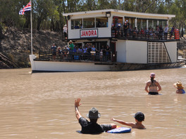 Cooling Off At North Bourke