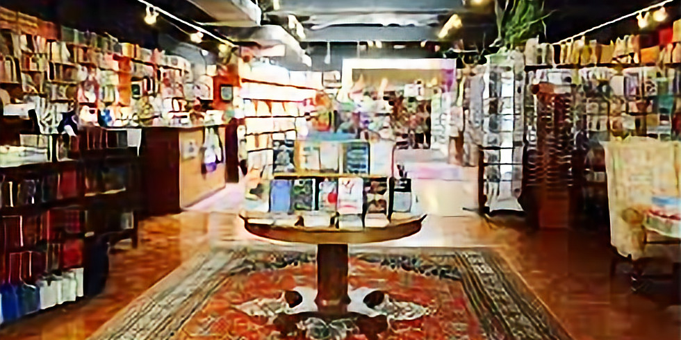 Marion Boyer, Karen Schubert, and Barbara Sabol read at Loganberry Books