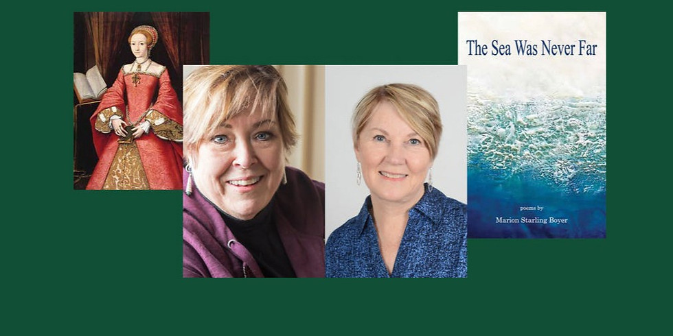 """Marion Boyer and Gail Griffin: Poetry Reading """"From London's Palace to Norfolk's Pubs"""""""