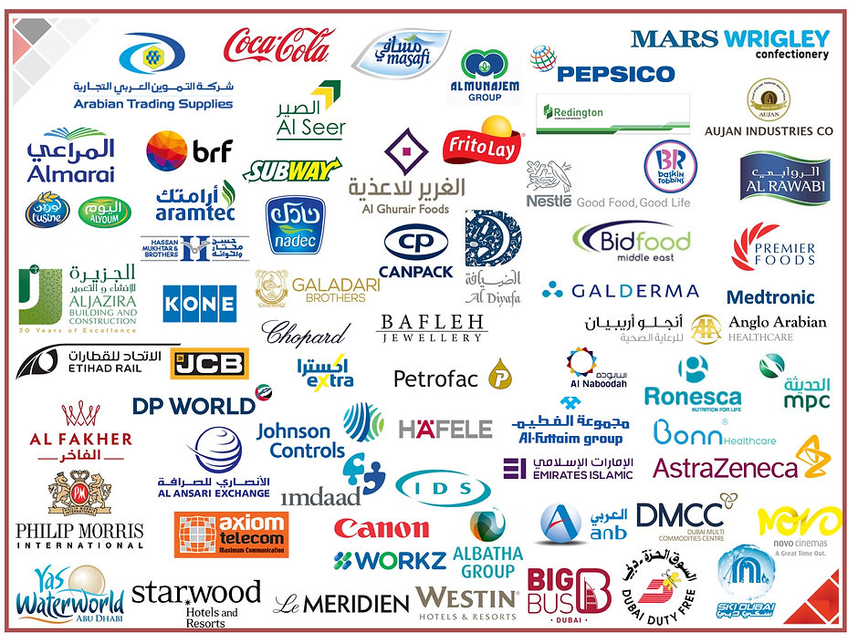 Gameplan Comapany Clients List of Logos.