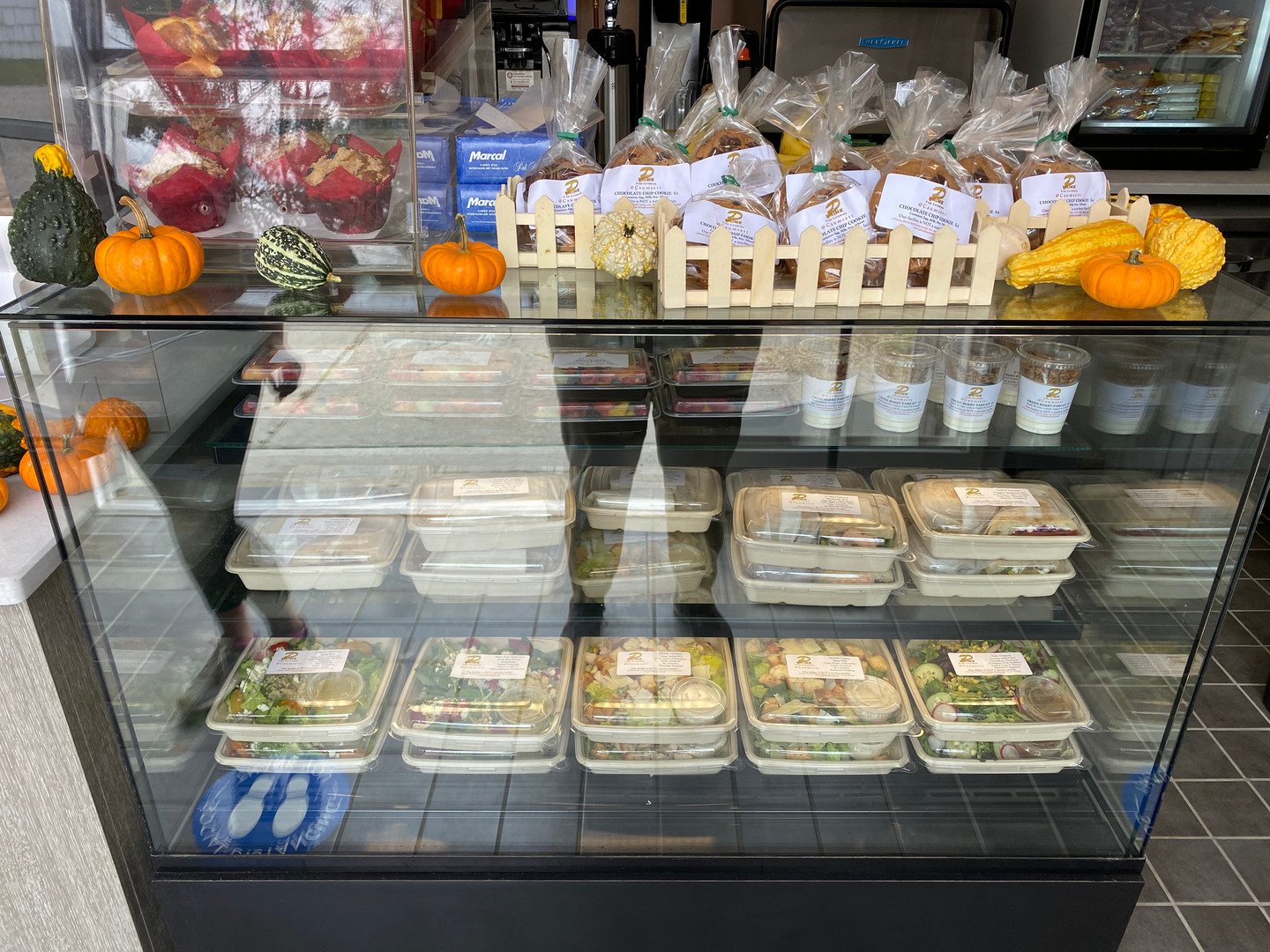 Serving delicious salads, sandwiches and fresh baked goods