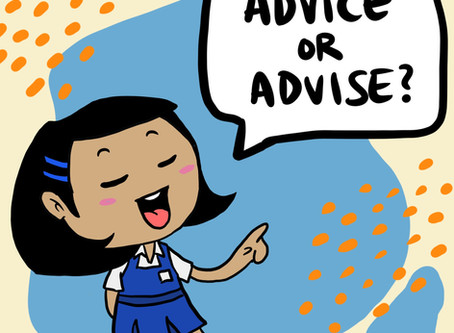 Advice vs Advise - What's the difference?