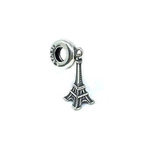 Berloque Prata 925 Torre Eiffel