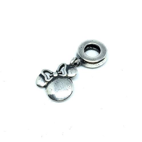 Berloque Prata 925 Minnie