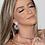 Thumbnail: Brinco Cravejado com Zircônia Cristal no Ródio
