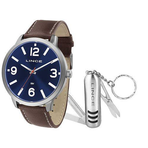 Kit Relógio Lince Masculino
