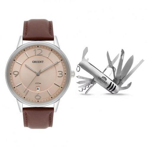 Kit Relógio Masculino Orient