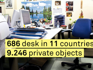 My desk is my Caslte_Poster_Countries