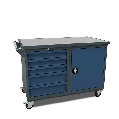 WS.32.11: Montagewagen mit 5 Schubladen