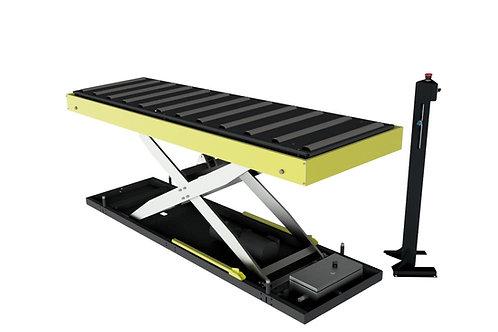 YBH-R1000: Förder-Scheren-Hubtisch mit Höhensensor, Traglast 1000kg, 700x2400mm