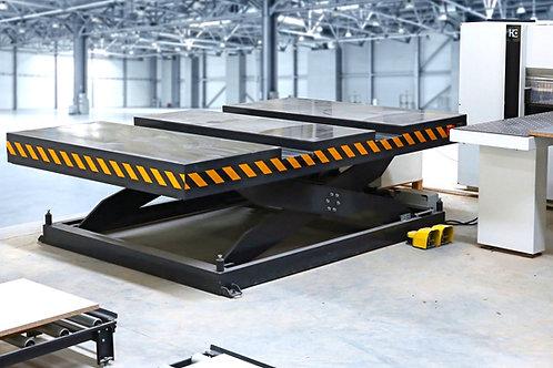 PEH-5000: Großplatten-Hubtisch, Traglast 5000kg, 2000 x 3000mm