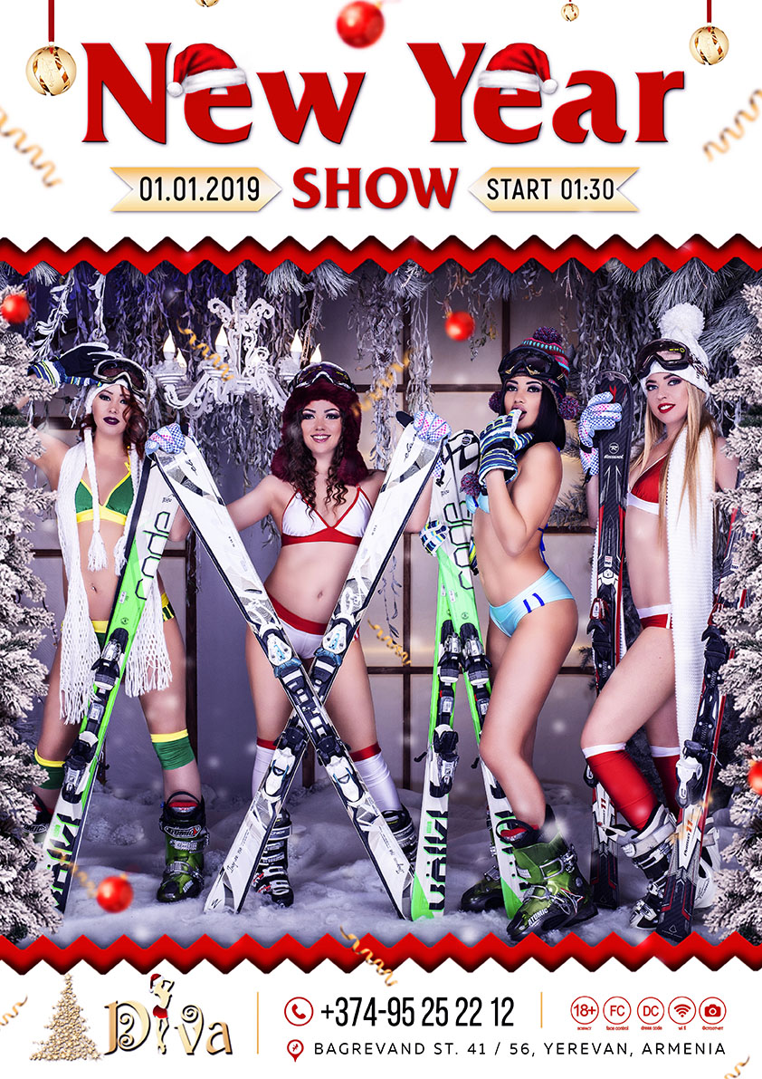 new year show7777 DIVA NIGHT CLUB)