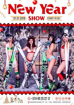 new year show7777 DIVA NIGHT CLUB)