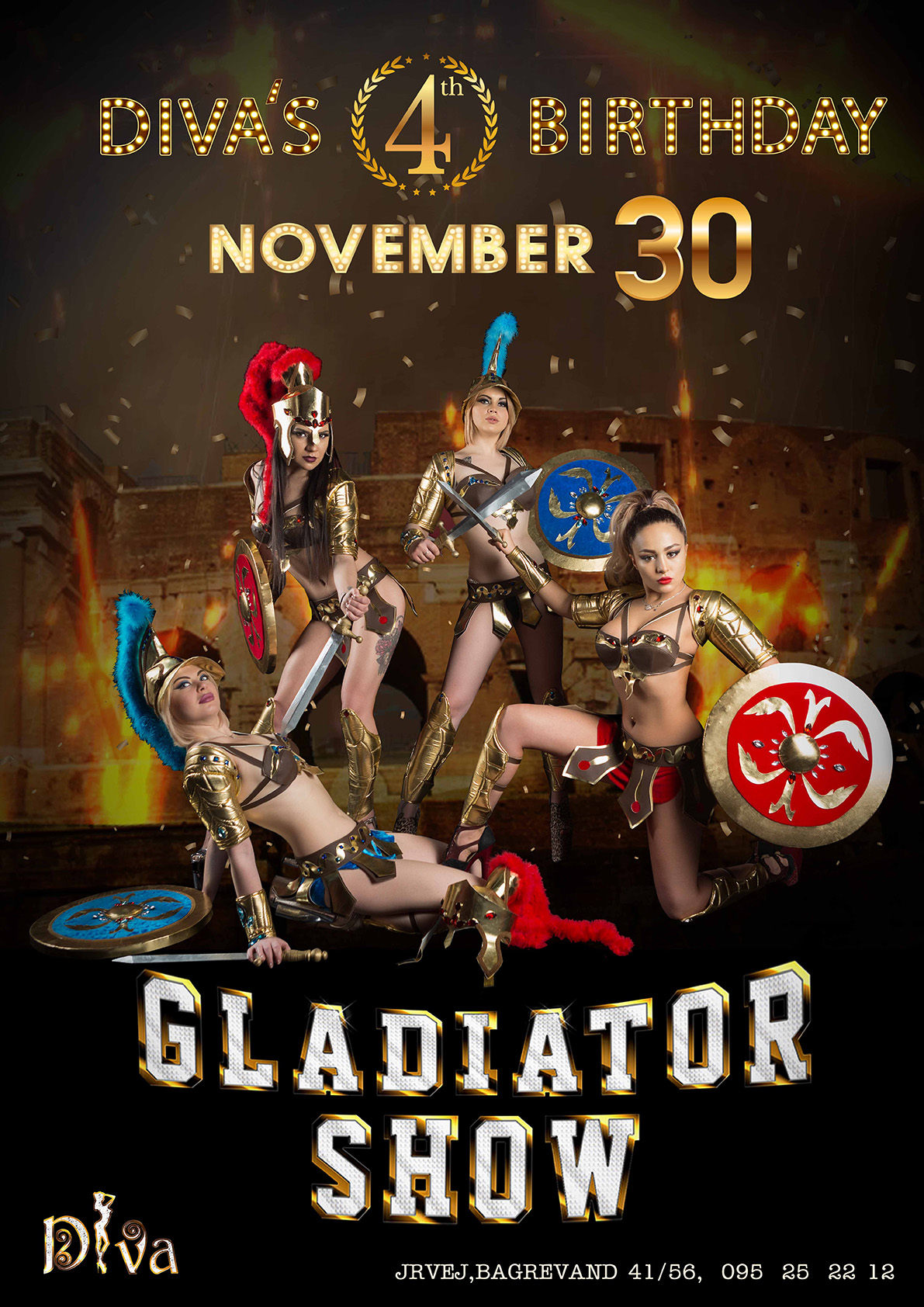 diva night club gladiator b-day 4