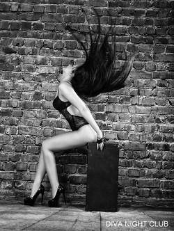 Full striptease