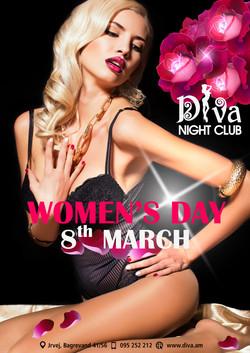 march 8 in diva night club armenia