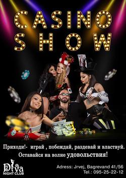 Casino show diva night club