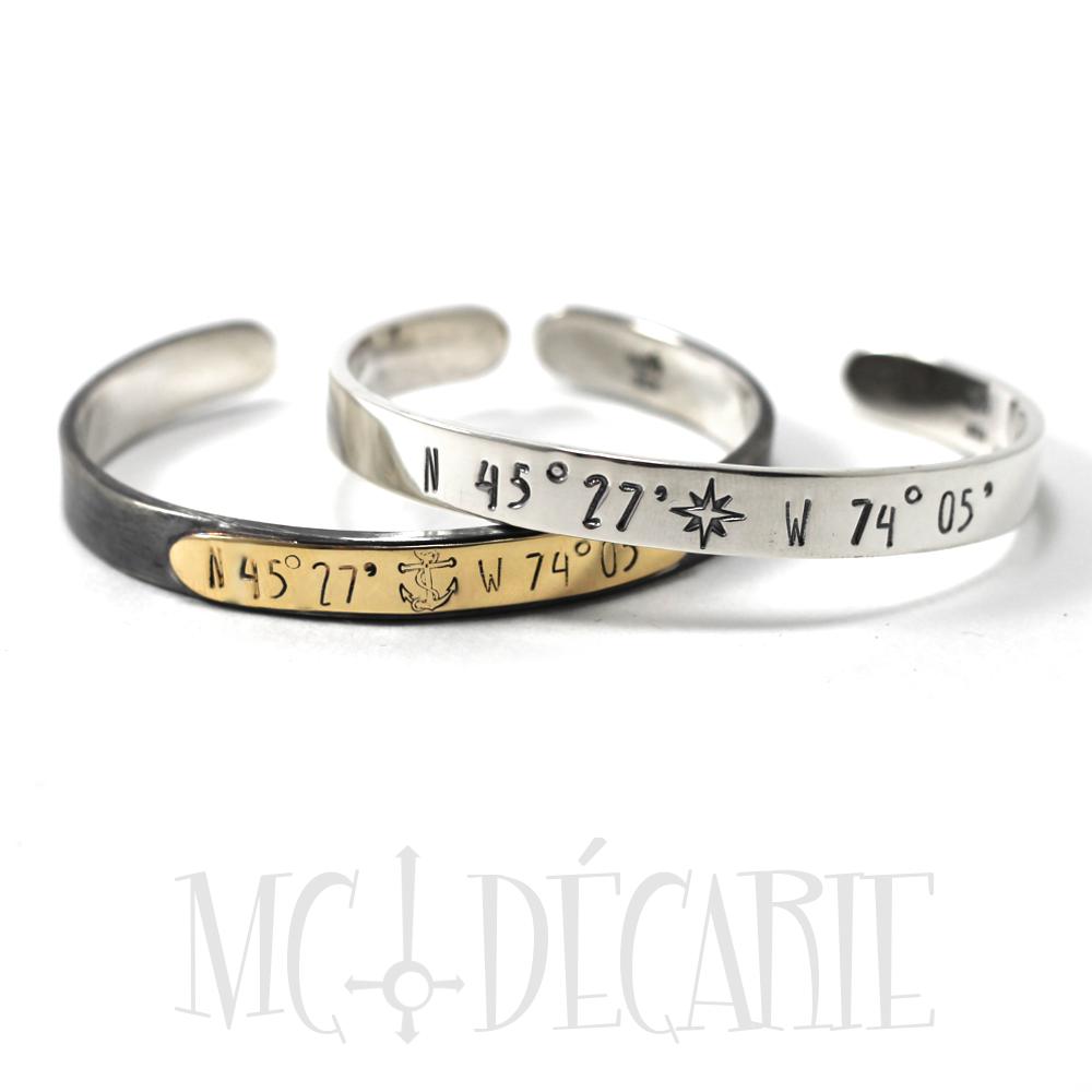 bracelet argent et or 3