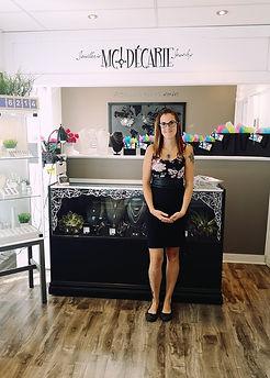 Marie-Claude Décarie, designer des bijoux MCDécarie