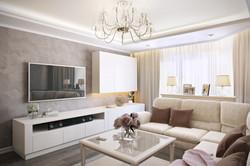 гостиная-гостевая комната