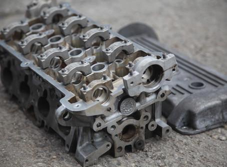 VW Zylinderkopf und Motorblock [v]