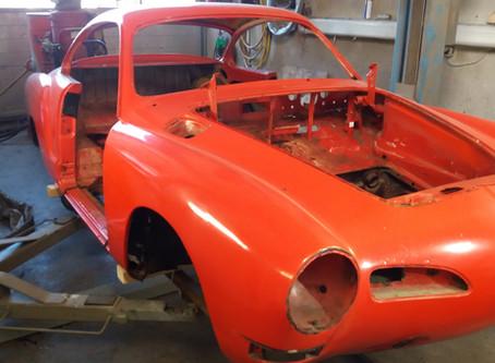 Karmann Ghia - Projekt Rotkäppchen