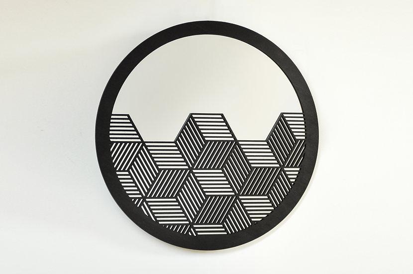 CUBES Ø 42cm - Noir