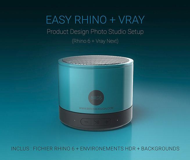 TUTORIEL + V-RAY Product Design Studio - FR